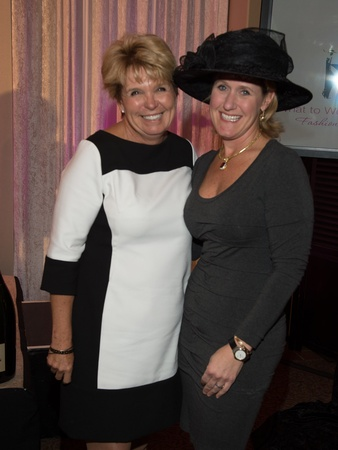 11, Pin Oak Charity Horse Show luncheon, March 2013, Lynn Walsh, Kirby McCool