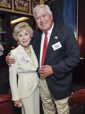 Texans Owners Suite, September 2012, Joanne King Herring, Bill O&#39;Connell