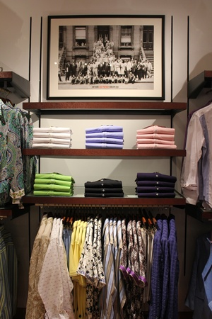 News_Robert Graham Store_Men's Shirts on Shelf_May 2012