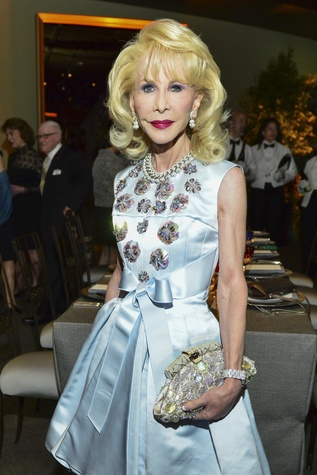 7 Diane Lokey Farb at the Bulgari exhibition dinner May 2014