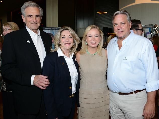 Charlie & Cindy Feld; Daffen & Doug Nettle, St Judes
