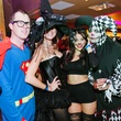 15 Bobby Lesaile, from left, Rachel Kay, Aymee Lynn and Randi Murray at the CultureMap Halloween party at Mr. Peeples October 2013