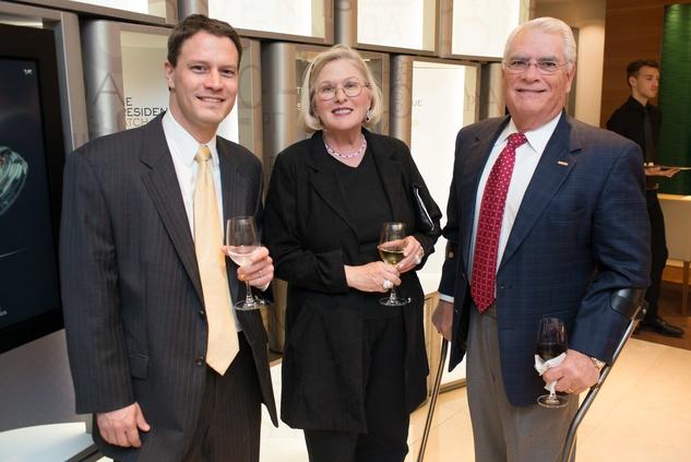 News, IW Marks Rolex Event, Dec. 2015, Chris Favre, Melinda Kacel, Bill Kacel