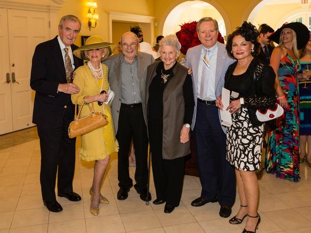 John Marsten, Billie Lee Rippey, Robert Brackbill, Caroline Rose Hunt, George McLaughlin, Olive Ann McLaughlin, Day at the Races