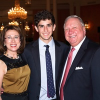 Susie Hale, from left, Chandler Gachman and Bob Hale at the HAR gala event October 2013