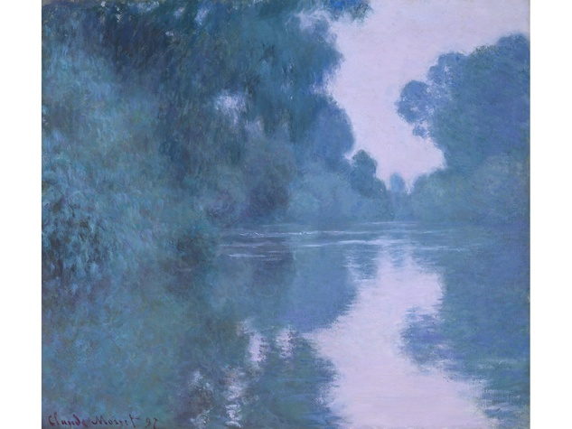 MFAH Claude Monet May 2014 - Morning on the Seine, Near Giverny