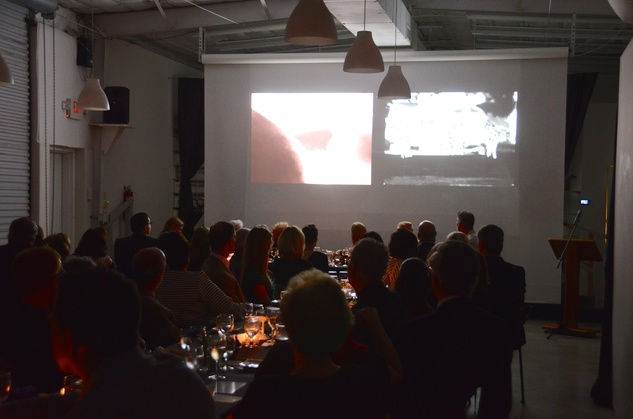 The venue at the Aurora Picture Show Awards dinner October 2014