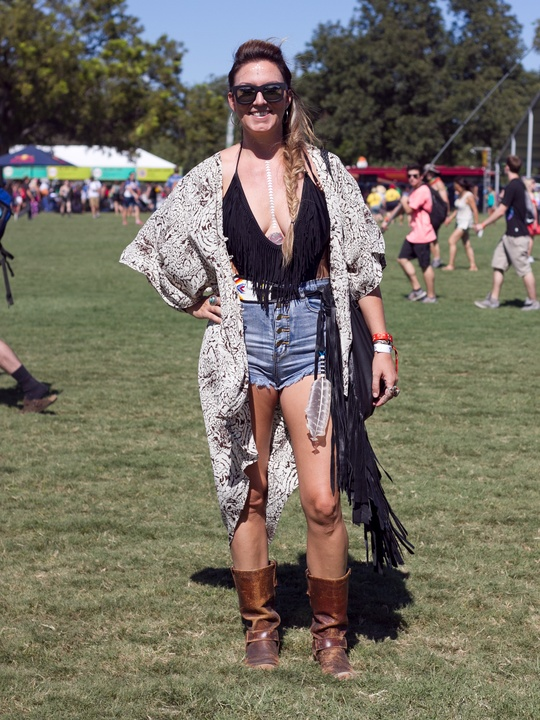 Austin City Limits ACL 2014 Fashion Style Catherine Abston Headdress