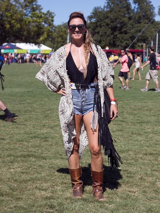 Austin City Limits ACL 2014 Fashion Style Catherine Abston Headdress