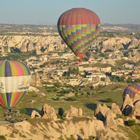 Deborah Elias, Turkey, June 2012, hot air balloons