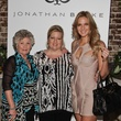 mom, from left, grandmother and Brittany Booker at the Jonathan Blake Fashion Show October 2013