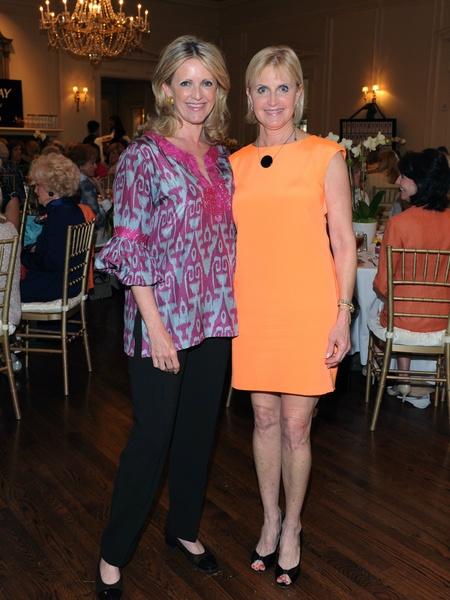 Ann Barbier-Mueller, Fay Sheehan, Salvation Army Luncheon