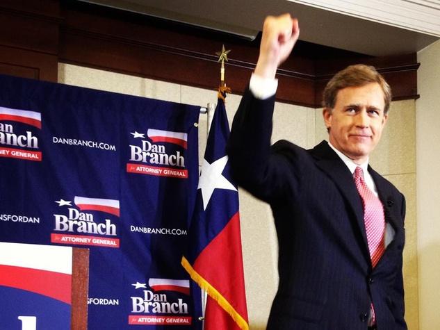 Dan Branch running for Texas Attorney General