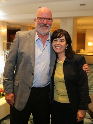 James Painter and Ann Marie Marmande at the LSU Foundation luncheon June 2014