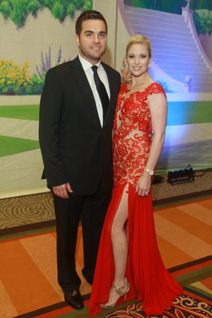 Winter Ball, January 2013, Billy Dunkin, Allie Dunkin