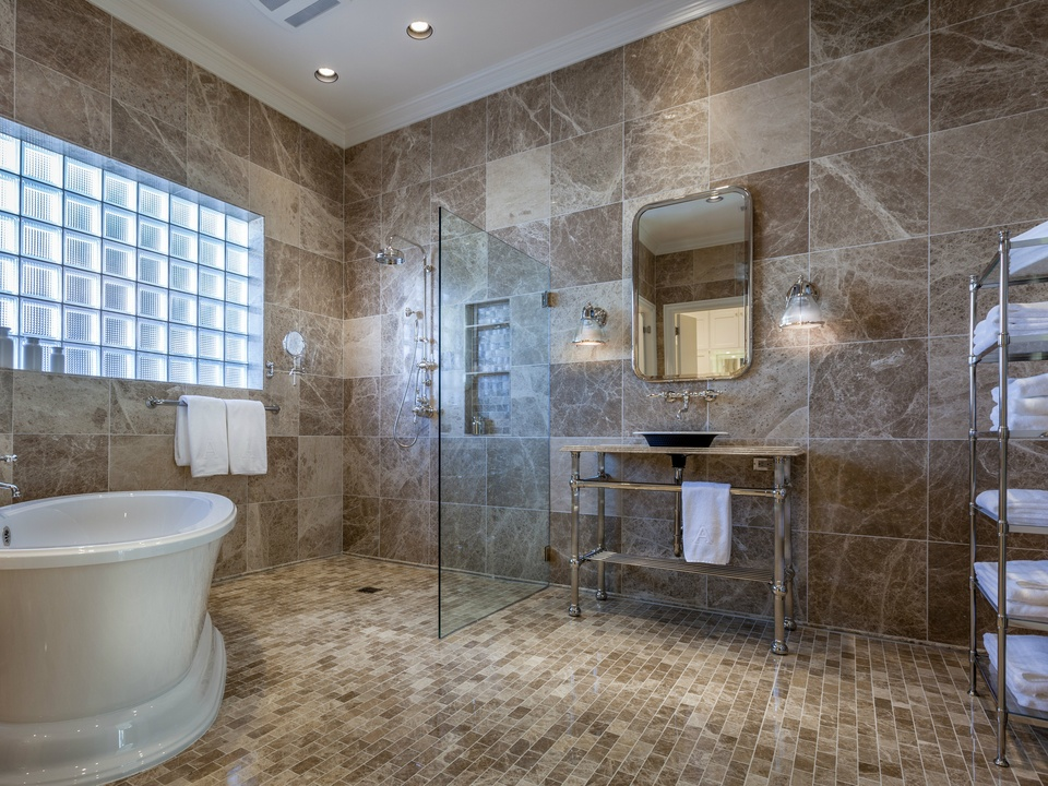 7 dallas master bathrooms better than a luxury spa