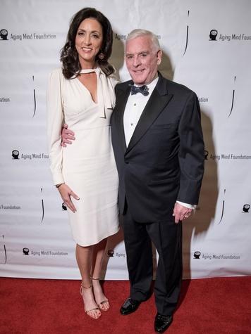 Aging Mind Foundation Gala 2018, Stacy Nutkis, Ben Fischer