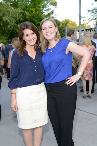 66 Kristen Steed, left, and Kelli Stephenson at the Houston Zoo Asante Society dinner April 2014