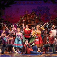 Bernadette Verzosa, Beauty and the Beast, September 2012, Logan Denninghoff, Gaston, cast of Disney's Beauty and the Beast