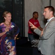 Alyce Alston and Nic Phillips at CultureMap Dallas launch party