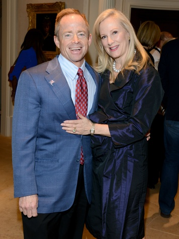 Phillip Huffines, Holly Huffines, S&S Patron Party