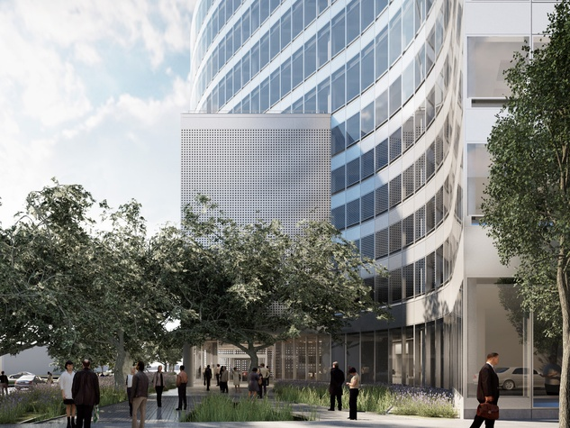 SXSW offices building 1400 Lavaca St Pei Cobb Freed & Partners
