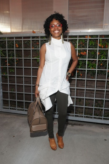 Charmaine Wilson Style File at Monica Pope Gospel Brunch for Dinner Party