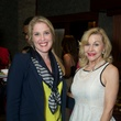 14 Jennifer Roosth, left, and Dana Kervin Clark at the Holly Rose Ribbon Shades of Roses kick off party July 2014