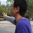 8, Katie, Xuan Chen, March 2013,  Xuan giving me a tour of the LSU campus