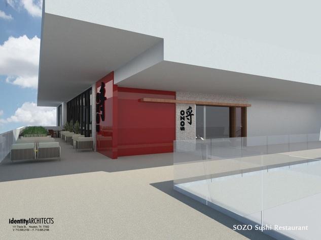 Sozo Sushi rendering