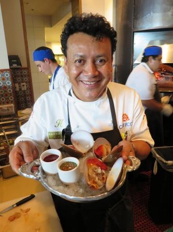 Hugo Ortega Caracol chef