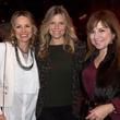 Lucinda Loya, from left, Stephanie Perkins and Donae Cangelosi Chramosta at Churrascos' grand opening event February 2014