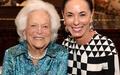 Houston, Barbara Bush Literacy Foundation Guild Tea, Nov. 2016, Sue Smith, Barbara Bush