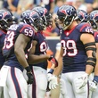 J.J. Watt Texans huddle