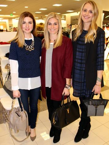 Liz Hartman, Brooke Burnett, Amy Jackson, Belk Spring Fashion Tour