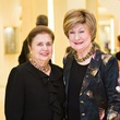 Helen Shaffer, left, and Cora Sue Mach at the Houston Symphony Retrospective Exhibit event March 2014