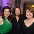 Stephanie Summerall, from left, Julie Soefer and Lisa Hopkins at the Flavour launch at Hotel Derek February 2015