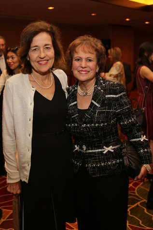 Holocaust Museum Courage Award Dinner, May 2015, Andrea White, Regina Rogers