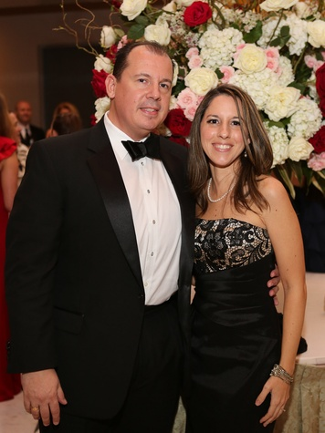 10 Houston Wine & Roses Gala May 2013 Lisa Mangos and George Mangos