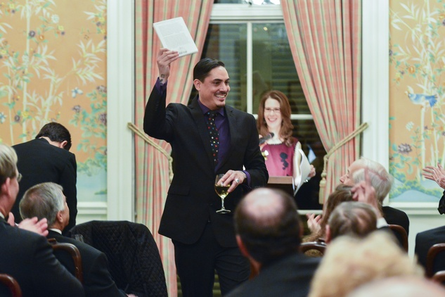 David Tomas Martinez at the Inprint Poets & Writers Ball February 2014