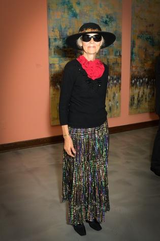 486 Jana Vander Lee at the Barbara Hines Art Opening in Dallas October 2014