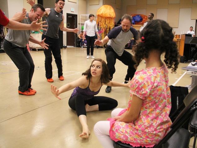 Little Mermaid rehearsal June 2014