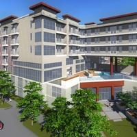 Memorial midrise multifamily development rendering July 2014 apartment complex