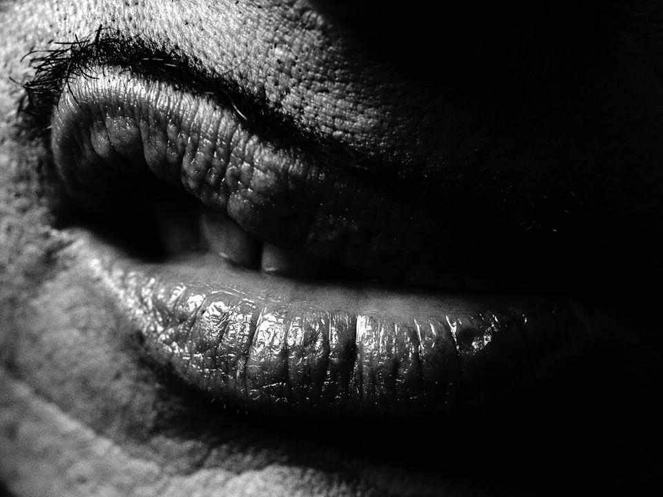News_Greg Gorman_John Water's Lips