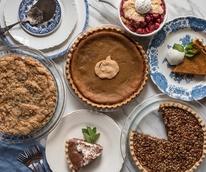 Liberty Kitchen holidays pies