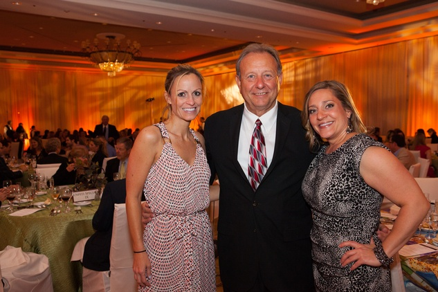 Christi Love, from left, Dick Phillips and Brook Wadenpfuhl at the Sugar Land Wine and Food Affair April 2015