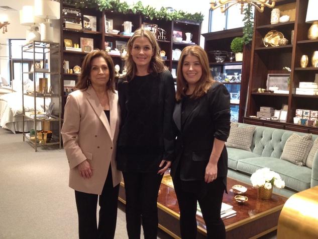 News, Shelby, Sylvia Dorsey, Aerin Lauder, Elizabeth Fertitta, Dec. 2014