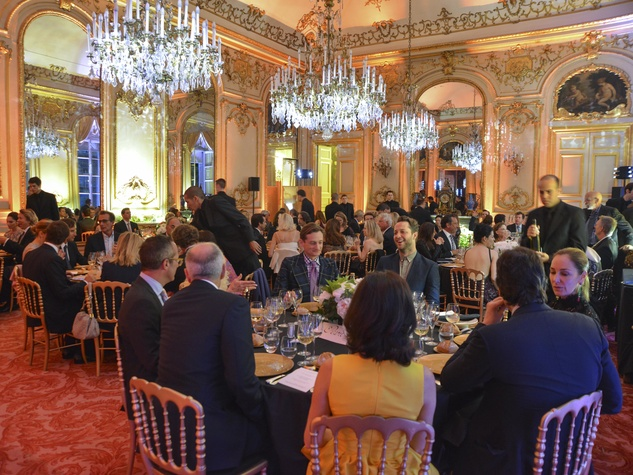 Luxembourg Palace dinner June 2013 interior shot