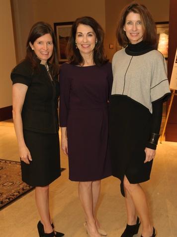 Lisa Roossien, Kathryn Warren, Andrea Pedigo, Voices of Hope Dinner