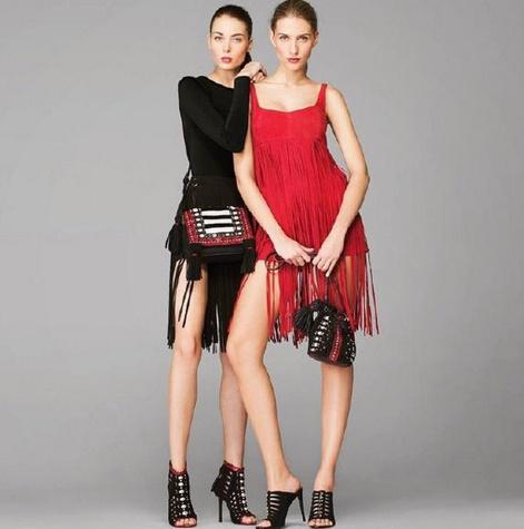 Tamara Mellon fringe dresses